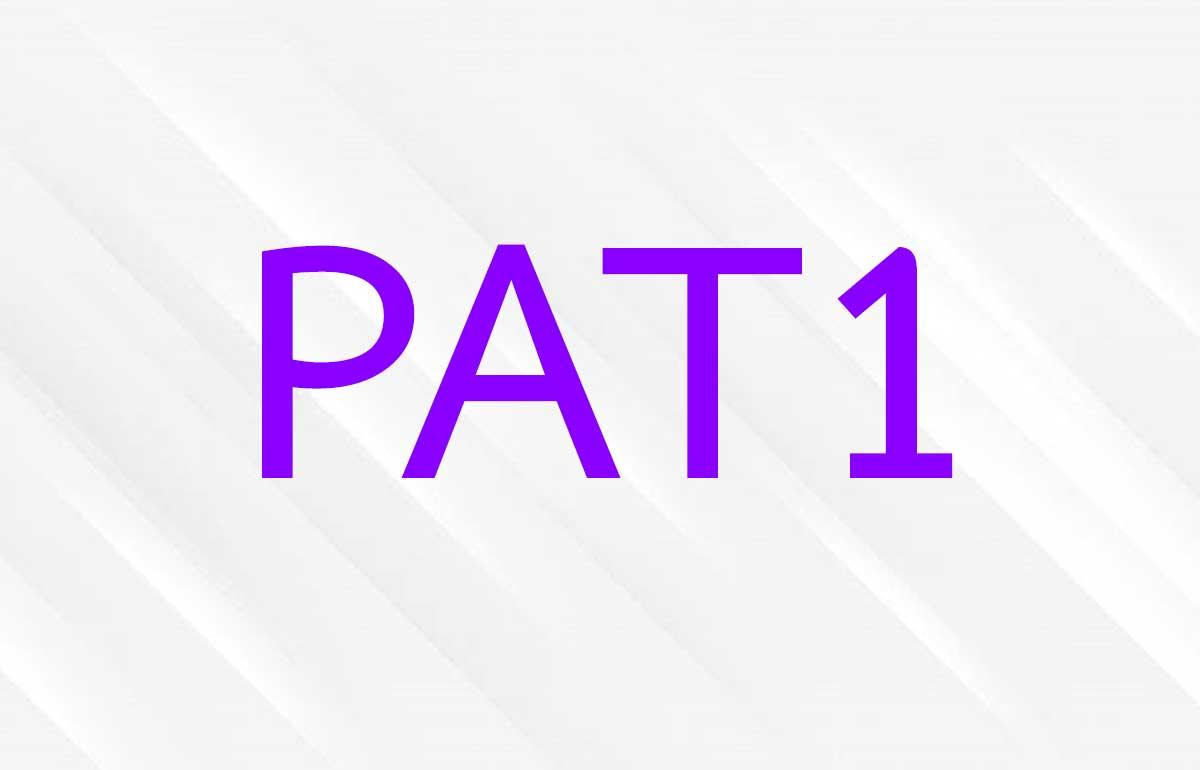 ข้อสอบ PAT1 ความถนัดทางวิชาคณิตศาสตร์