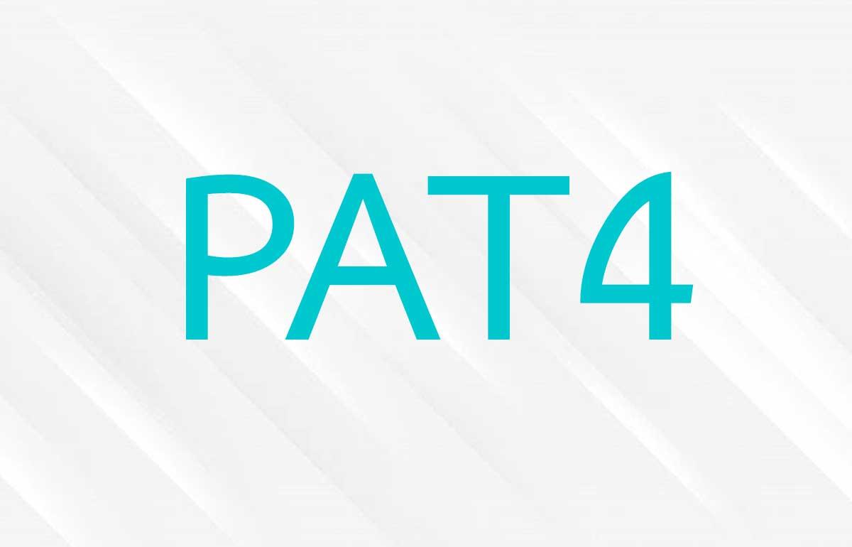 ข้อสอบ PAT 4 วิชาความถนัดทางสถาปัตยกรรม