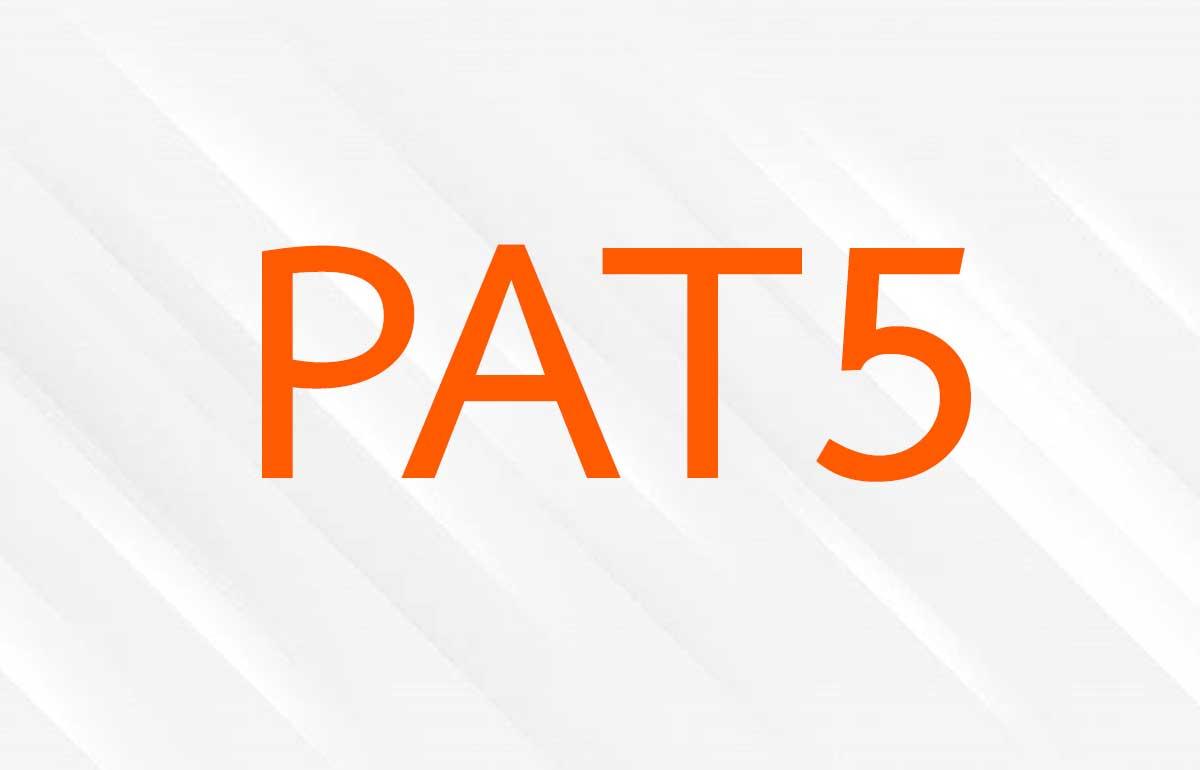 ข้อสอบ PAT 5 ความถนัดทางวิชาชีพครู